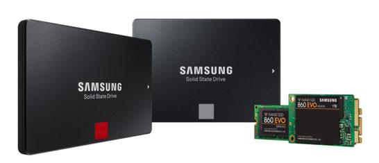 SSD Samsung 860-й серии