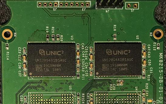 Микросхемы UNIC Memory (64-слойные 3D NAND Intel)