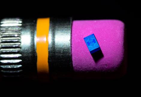 Квантовый процессор из одного кубита на кончике карандашной резинки