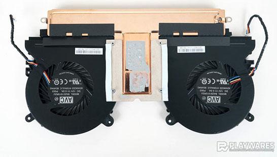Система охлаждения мини-ПК Intel NUC8i7HVK