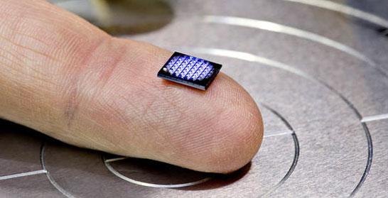 На подушечке пальца разместились 64 нано-компьюетров IBM
