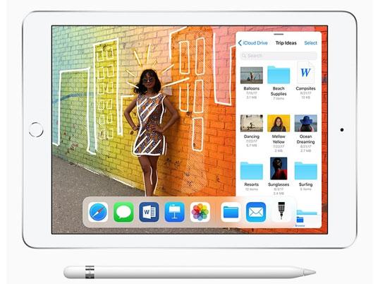 Apple iPad образца 2018 года с 9,7-дюймовым дисплеем