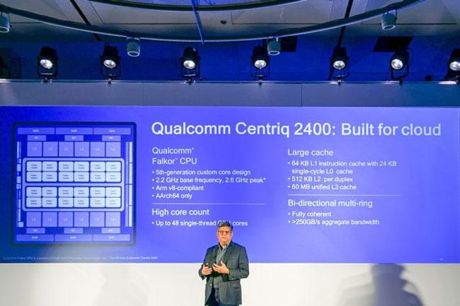 Ананд Чандразекхер (Anand Chandrasekher) рассказывает о процессоре Qualcomm Centriq 2400