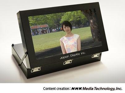 Прототип 17-дюймового стереоскопического LCD-дисплея JDI
