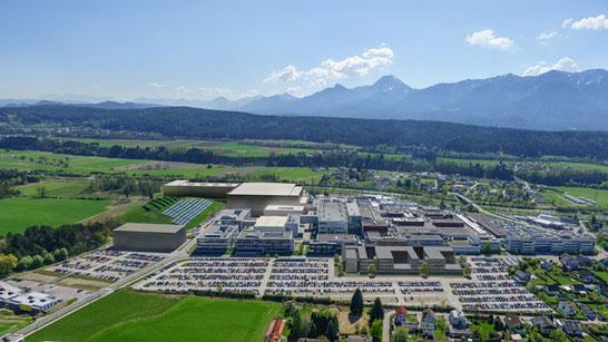 Компьютерное изображение будущего завода Infineon в Австрии